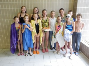 Plavecké skupiny 2013